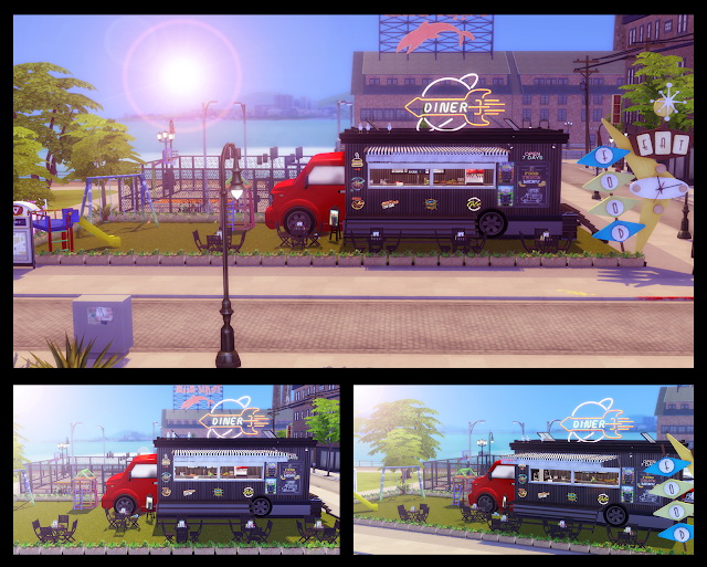 Food Truck at Lily Sims image 7310 Sims 4 Updates