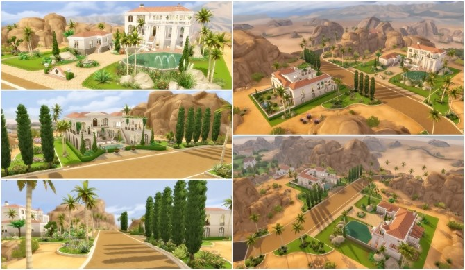 Oasis Springs Makeover at Via Sims image 735 670x389 Sims 4 Updates