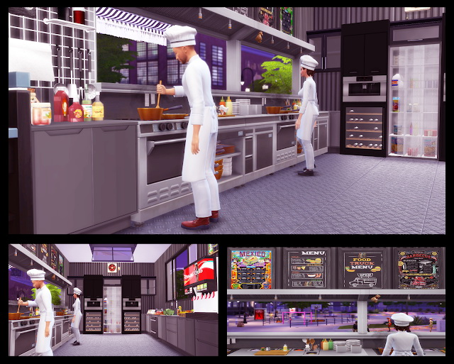 Food Truck at Lily Sims image 7410 Sims 4 Updates