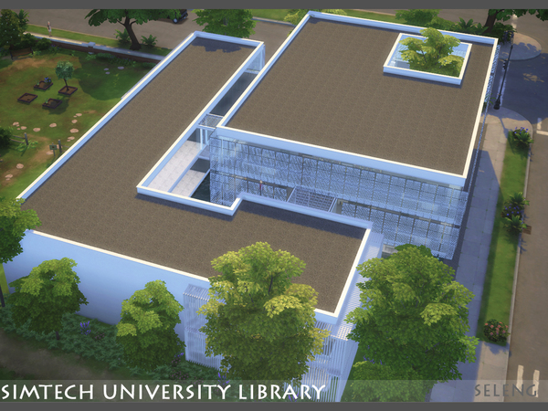 Sim tech Uni Library by Seleng at TSR image 780 Sims 4 Updates