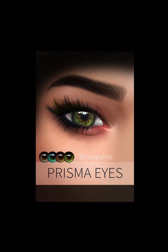 Sims 4 PRISMA EYES + NORVINA PALETTE (P) at FROST SIMS 4