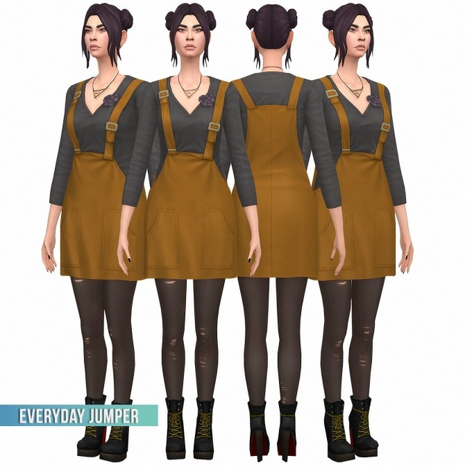 Everyday Jumper S3 Conversion at Busted Pixels image 7916 670x670 Sims 4 Updates