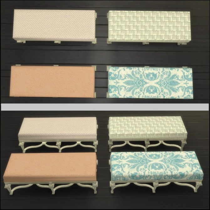 Carved and Gilded Beech Seat Recolors by gisellemoon at Mod The Sims image 803 670x668 Sims 4 Updates