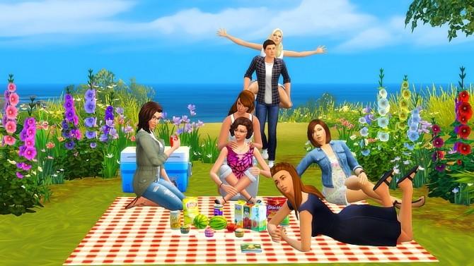 Picnic poses by Dyo at Sims 4 Fr image 8114 670x377 Sims 4 Updates