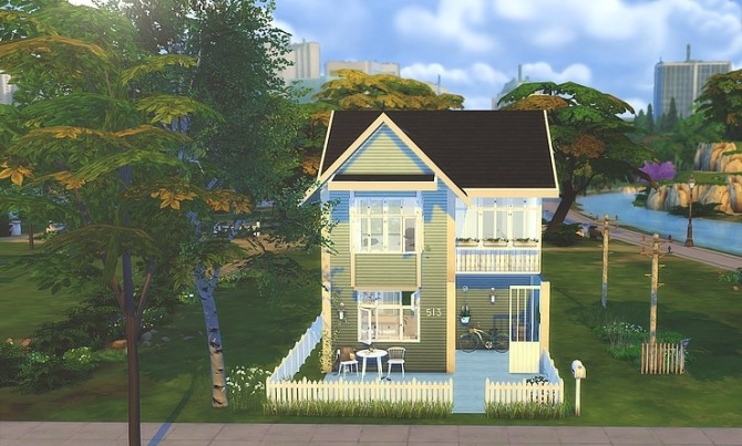 STARTER house at Zozo Sims image 8117 670x403 Sims 4 Updates