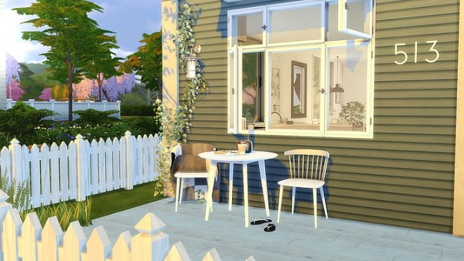 STARTER house at Zozo Sims image 8213 670x377 Sims 4 Updates