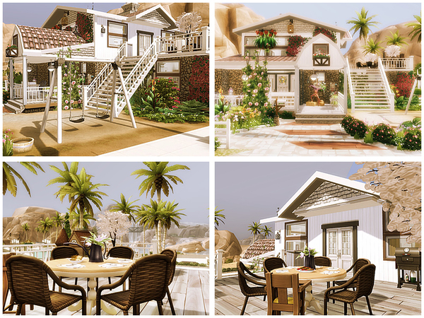 Sims 4 Hot summer Day house by Danuta720 at TSR