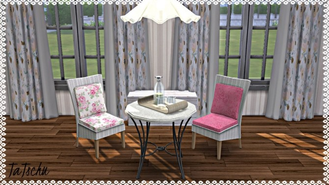 Emma's Garden Dining Chair recolor at TaTschu`s Sims4 CC image 8410 670x377 Sims 4 Updates