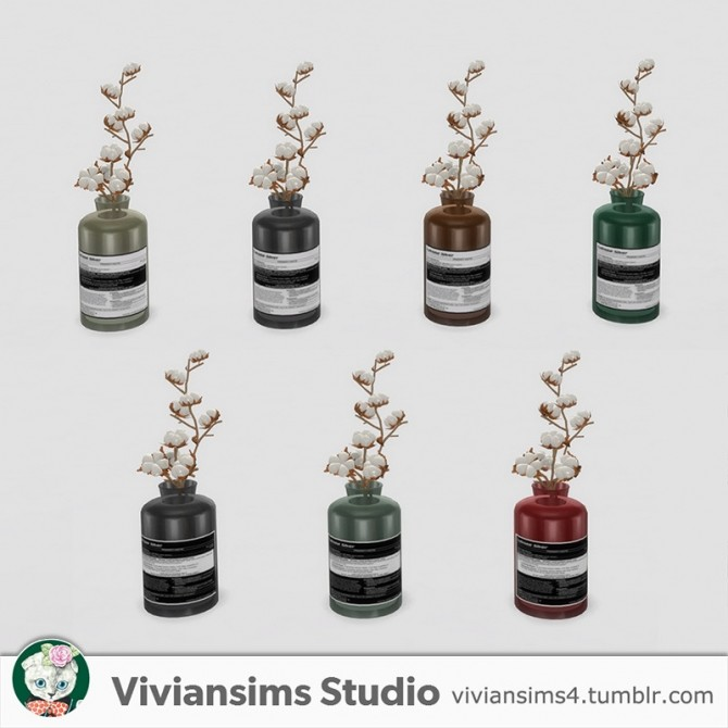 Bathroom new meshes & bg recolors at Viviansims Studio image 8415 670x670 Sims 4 Updates