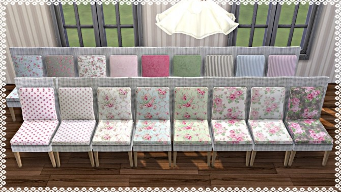 Emma's Garden Dining Chair recolor at TaTschu`s Sims4 CC image 8511 670x377 Sims 4 Updates