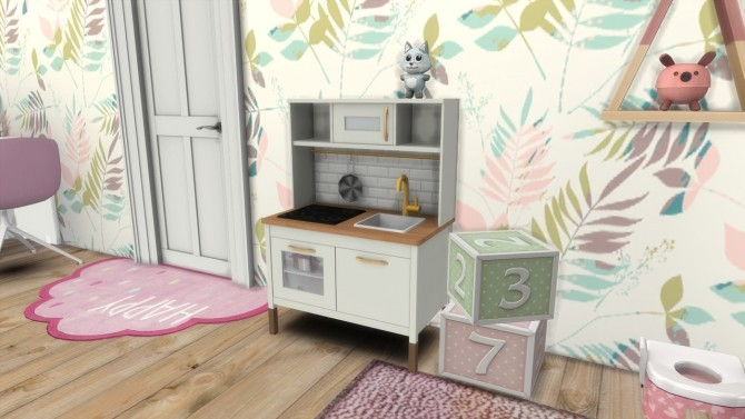 Sims 4 TODDLER ROOM Orlando at MODELSIMS4