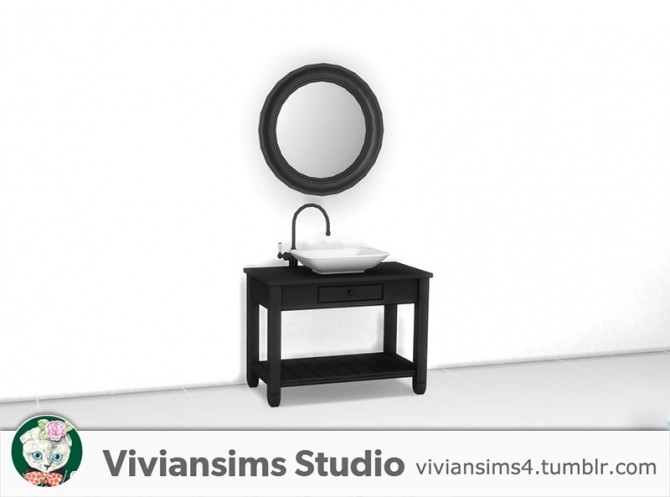 Sims 4 Bathroom new meshes & bg recolors at Viviansims Studio