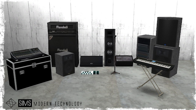 Concert System at Sims Modern Technology image 858 Sims 4 Updates