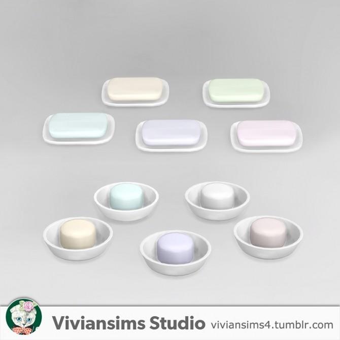 Bathroom new meshes & bg recolors at Viviansims Studio image 8616 670x670 Sims 4 Updates