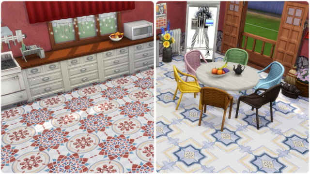 Palermo tiles at Annett's Sims 4 Welt image 864 Sims 4 Updates