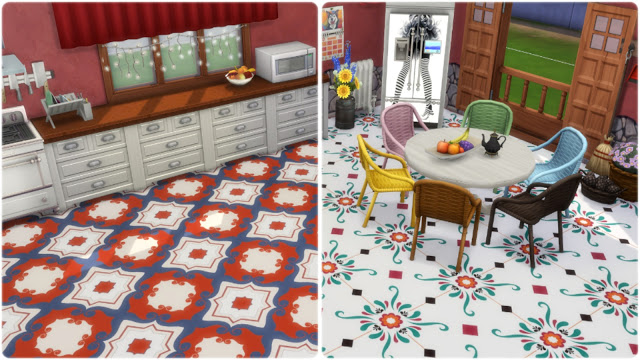 Palermo tiles at Annett's Sims 4 Welt image 874 Sims 4 Updates