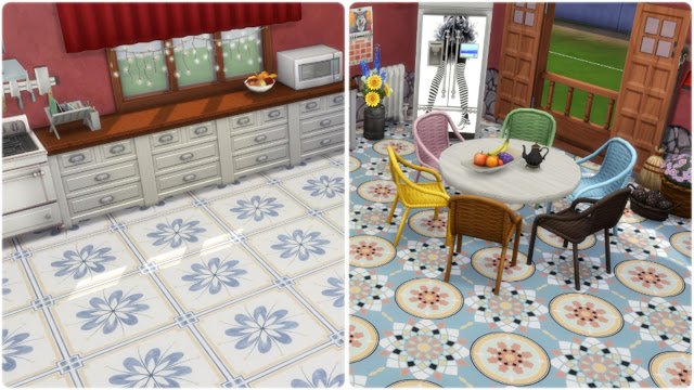 Palermo tiles at Annett's Sims 4 Welt image 884 Sims 4 Updates