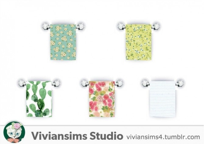 Bathroom new meshes & bg recolors at Viviansims Studio image 8916 670x475 Sims 4 Updates