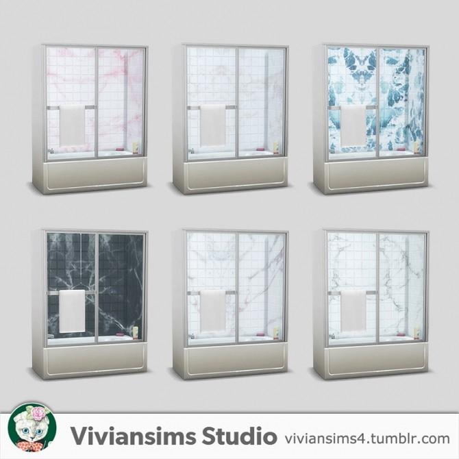 Bathroom new meshes & bg recolors at Viviansims Studio image 9016 670x670 Sims 4 Updates