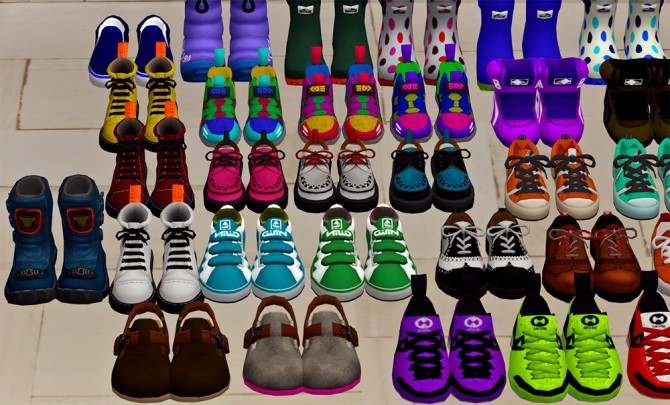 Sims 4 Deco Shoes Clutter at Josie Simblr