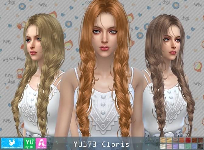 Sims 4 YU173 Clovis hair (P) at Newsea Sims 4