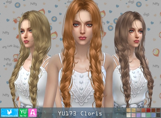 YU173 Clovis hair (P) at Newsea Sims 4 image 9314 670x491 Sims 4 Updates