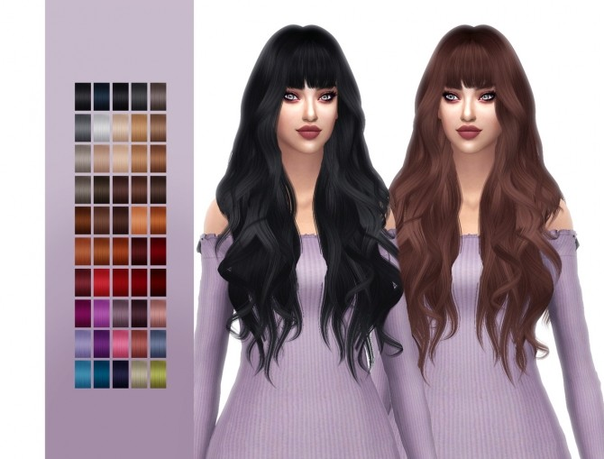 Anto Owl hair retexture at FROST SIMS 4 image 935 670x509 Sims 4 Updates