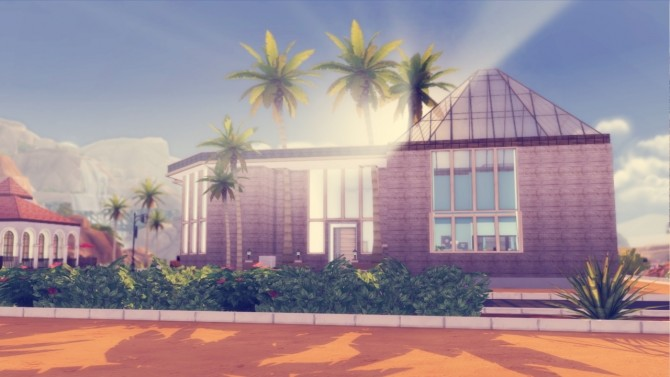 The Palms two bedroom house at Simming With Mary image 945 670x377 Sims 4 Updates