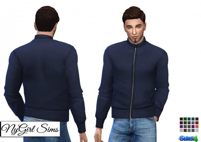 High Neck Zip Up Jacket at NyGirl Sims image 952 670x474 Sims 4 Updates