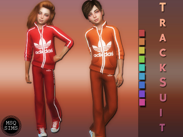 Kids tracksuit at MSQ Sims image 953 Sims 4 Updates