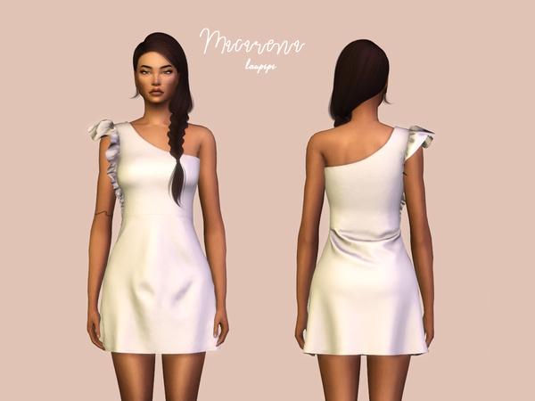 Sims 4 Macarena dress by laupipi at TSR