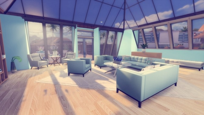 The Palms two bedroom house at Simming With Mary image 965 670x377 Sims 4 Updates