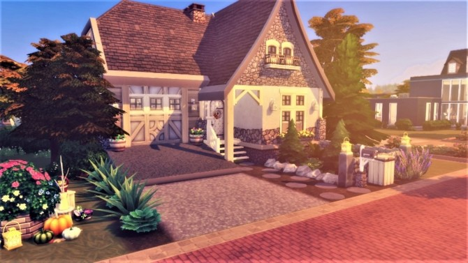 Sims 4 Swedish Cottage at Agathea k