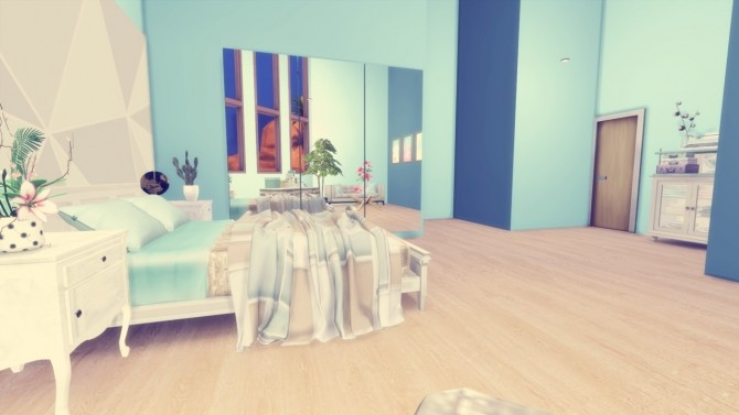 The Palms two bedroom house at Simming With Mary image 975 670x377 Sims 4 Updates