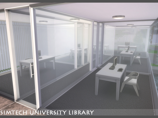 Sim tech Uni Library by Seleng at TSR image 980 Sims 4 Updates