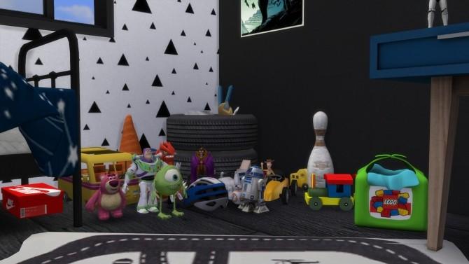 Sims 4 BOYS ROOM Orlando at MODELSIMS4
