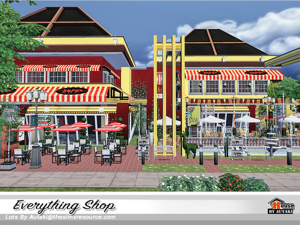Everything Shop by autaki at TSR image 990 Sims 4 Updates