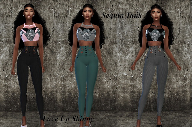 Sims 4 Monique Collection at Teenageeaglerunner