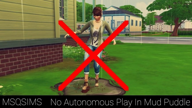 No Autonomous Play In Mud Puddle at MSQ Sims image 1005 670x377 Sims 4 Updates