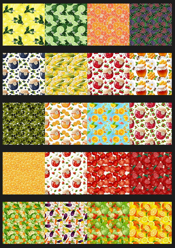 Sims 4 Fruits & Vegetables Kitchen Wallpapers at Annett's Sims 4 Welt