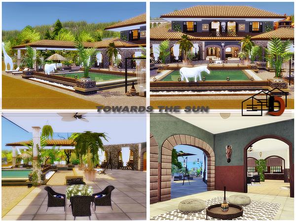 Towards the sun house by Danuta720 at TSR image 1040 Sims 4 Updates