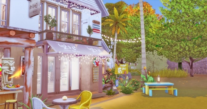 Seafood Bar at Ruby's Home Design image 1073 670x355 Sims 4 Updates