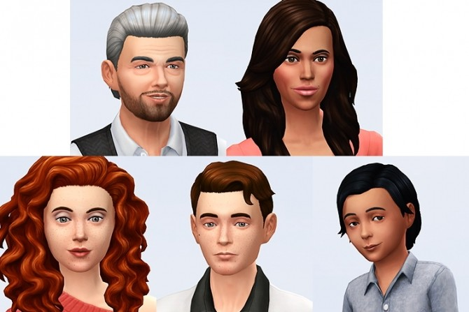 Sims 4 First batch of sims for the Savidal save project at Simsontherope