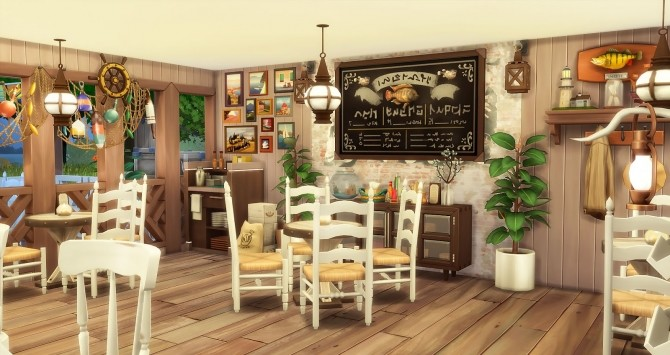 Seafood Bar at Ruby's Home Design image 1093 670x355 Sims 4 Updates