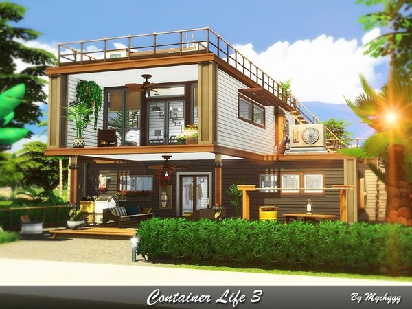 Sims 4 Container Life 3 by MychQQQ at TSR