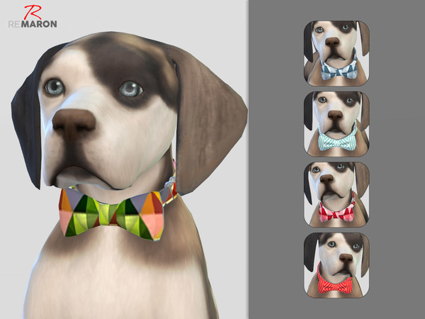 Tie for small dogs by remaron at TSR image 1105 Sims 4 Updates