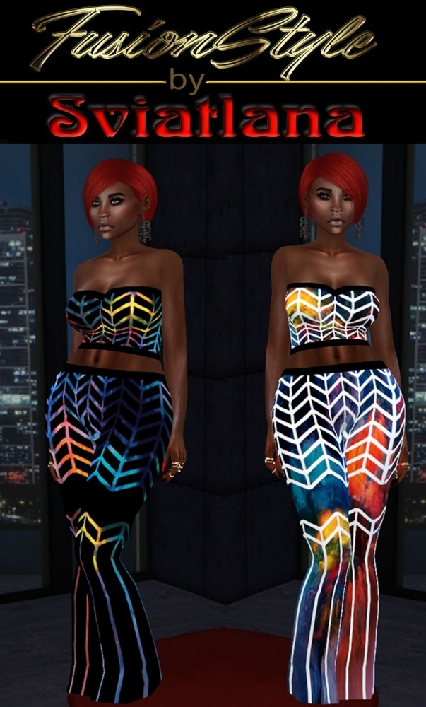 Sims 4 New outfit at FusionStyle by Sviatlana