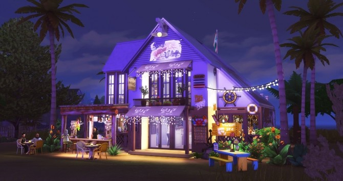 Seafood Bar at Ruby's Home Design image 1123 670x355 Sims 4 Updates