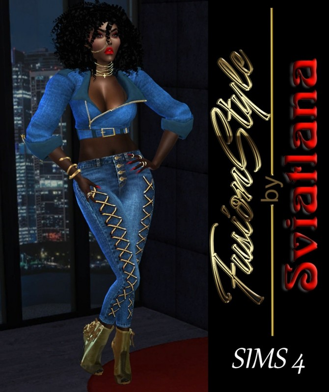 Sims 4 Classic Jeans at FusionStyle by Sviatlana