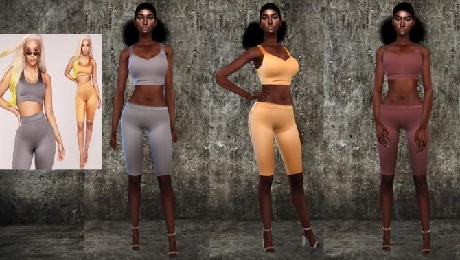 Leggings Set at Teenageeaglerunner image 1144 670x378 Sims 4 Updates